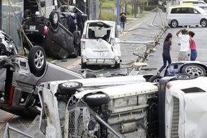 Siêu bão Jebi đổ bộ Nhật Bản, hơn 200 người thương vong