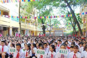 Thầy và trò Trường THCS Ngô Sỹ Liên, quận Hoàn Kiếm: Hân hoan trong ngày vui tựu trường