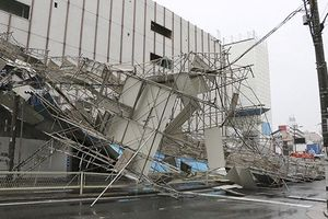 Bão Jebi hoành hành dữ dội tại Nhật Bản, hàng chục người thiệt mạng