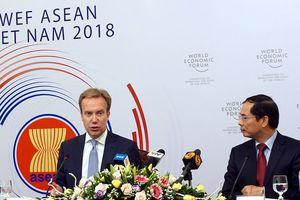 WEF ASEAN 2018: Cơ hội các nước thảo luận cách thích ứng cách mạng 4.0