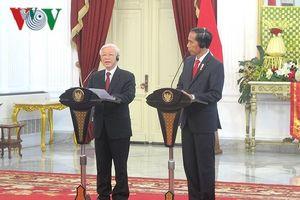 Tổng thống Indonesia lần đầu thăm chính thức Việt Nam