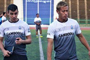 Keisuke Honda ra mắt, quyết cùng tuyển Campuchia đánh bại Việt Nam