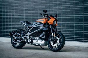 Ảnh chi tiết môtô điện đầu tiên của Harley-Davidson vừa lộ diện