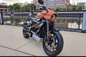 Mục sở thị mô tô điện Harley-Davidson LimeWire 'bằng da bằng thịt'