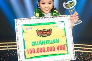 Cô bé 11 tuổi đăng quang 'Tiếu lâm tứ trụ nhí', nhận 150 triệu đồng