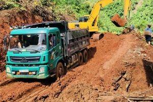 Sơn La: Khắc phục hậu quả các tuyến đường giao thông sau mưa lũ