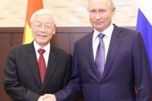 Tổng thống Putin sẽ thăm Việt Nam vào năm tới