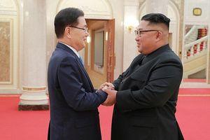 Ông Kim Jong-un tiếp đoàn Hàn Quốc, cam kết 'phi hạt nhân hóa hoàn toàn'