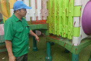 Đà Nẵng: Trường mầm non bị tấn công 'bom sơn' trong ngày khai giảng