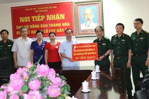 Ủng hộ người dân Thanh Hóa bị thiệt hại do mưa lũ