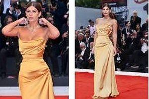 Nima Benati váy cúp ngực khoe vòng 1 gợi cảm
