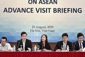 Ngày 11-9 Hội nghị Diễn đàn kinh tế thế giới về ASEAN 2018 sẽ diễn ra tại Việt Nam