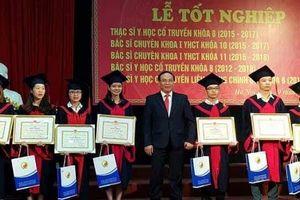 Học viện Y Dược học cổ truyền Việt Nam muốn sinh viên giỏi ở lại trường
