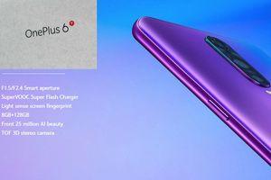 Lộ ảnh vỏ hộp OnePlus 6T kèm theo thiết kế chính thức
