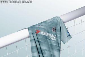 Chelsea chính thức ra mắt mẫu áo đấu thứ 3 với logo phát quang