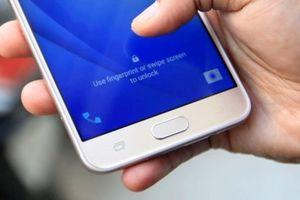 Hé lộ thông tin mẫu smartphone đầu tiên của Samsung có máy quét vân tay