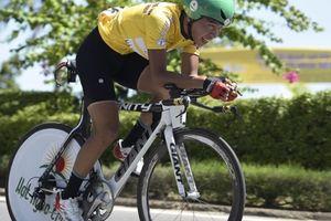 Chặng 5 giải xe đạp quốc tế VTV: Nỗ lực vượt bậc của tay đua trẻ để bảo vệ thành công áo vàng