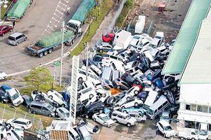Siêu bão Jebi tàn phá Nhật Bản
