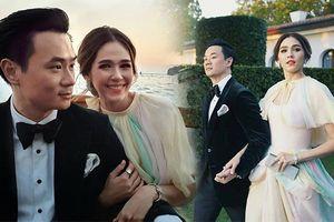 LHP Venice 2018: Chompoo Araya rạng rỡ khoe sắc, cùng chồng tỷ phú 'trốn con' hẹn hò lãng mạn