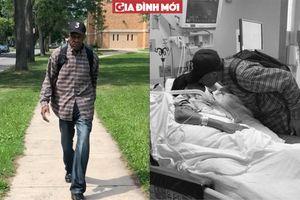 Người đàn ông 99 tuổi đi bộ 10km mỗi ngày thăm vợ trong bệnh viện