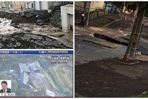 NÓNG: Khổ như Nhật Bản vừa thoát khỏi siêu bão, lại tiếp tục bị động đất nuốt chửng