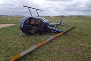 Rơi máy bay trực thăng khiến 4 người thiệt mạng