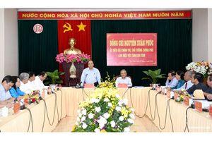 Thủ tướng Chính phủ làm việc với lãnh đạo tỉnh Kon Tum