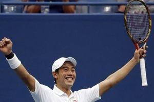Nishikori chờ đấu Djokovic ở bán kết Mỹ Mở rộng