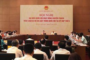 Đại biểu Quốc hội chuyên trách thảo luận 2 dự án Luật được dư luận quan tâm