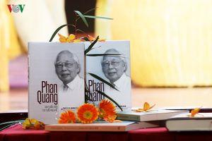 Ra mắt cuốn sách 'Phan Quang - 90 tuổi đời, 70 tuổi nghề'