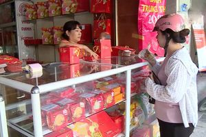 Thị trường bánh Trung thu vào mùa cao điểm