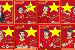 Bộ tranh chân dung Olympic Việt Nam 'gây bão' trên mạng xã hội