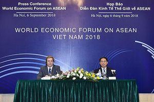 Diễn đàn Kinh tế Thế giới về ASEAN 2018 sẽ có 60 phiên thảo luận