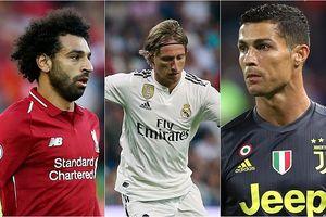 Chủ nhân giải thưởng The Best 2018: Modric chiếm ưu thế trước Ronaldo, Salah