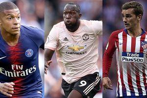 10 tiền đạo có chỉ số cao trong FIFA 19: Mbappe qua mặt Lukaku