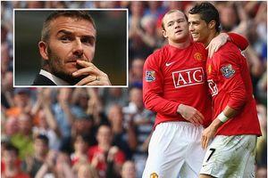 Beckham gây sốt khi muốn tái hợp cặp Ronaldo-Rooney ở Mỹ