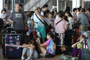 Người Đài Loan kẹt bão Jebi chỉ được di tản 'nếu nhận là người TQ'