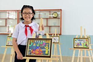 Hơn 10.000 bạn trẻ thi vẽ tranh an toàn giao thông
