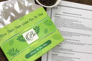 Bộ Y tế lên tiếng về sản phẩm Giảm cân Bà Vần