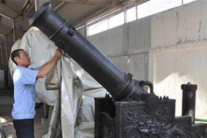 Trải lòng của người phục dựng súng thần công thời Nguyễn