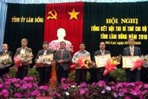 2.578 đồng chí tham gia Hội thi Bí thư Chi bộ giỏi ở Lâm Đồng