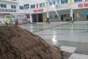 Diễn biến mới nhất vụ đổ gạch, cát vào khuôn viên trường Pascal