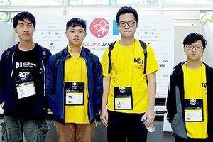 Học sinh Việt Nam đoạt Huy chương vàng tại Olympic Tin học quốc tế 2018