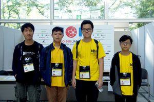 Việt Nam tiếp tục 'gặt vàng' tại Olympic Tin học quốc tế 2018