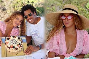 Beyonce siêu gợi cảm sánh đôi chồng trong sinh nhật ở Ý