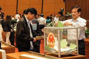 Thường vụ Quốc hội xem xét lấy phiếu tín nhiệm chức danh chủ chốt