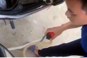Phú Thọ: Cây xăng đổ thiếu còn hùng hổ thách thức khách hàng