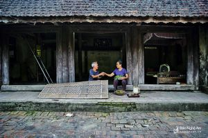 Nét xưa làng xứ Nghệ