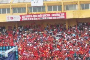 Phạt người tổ chức xem U23 Việt Nam thi đấu ở sân Hàng Đẫy