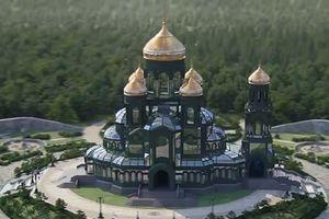 Nga xây nhà thờ độc đáo dành riêng cho lực lượng vũ trang
